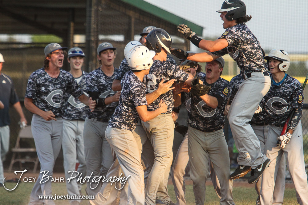 Chanute defeated the Ottawa Arrows 9 to 3 in eight Innings to advance to the American Legion Class AAA Baseball State Tournament Championship game at the Great Bend Sports Complex in Great Bend, Kansas on July 29, 2016. (Photo: Joey Bahr, www.joeybahr.com)